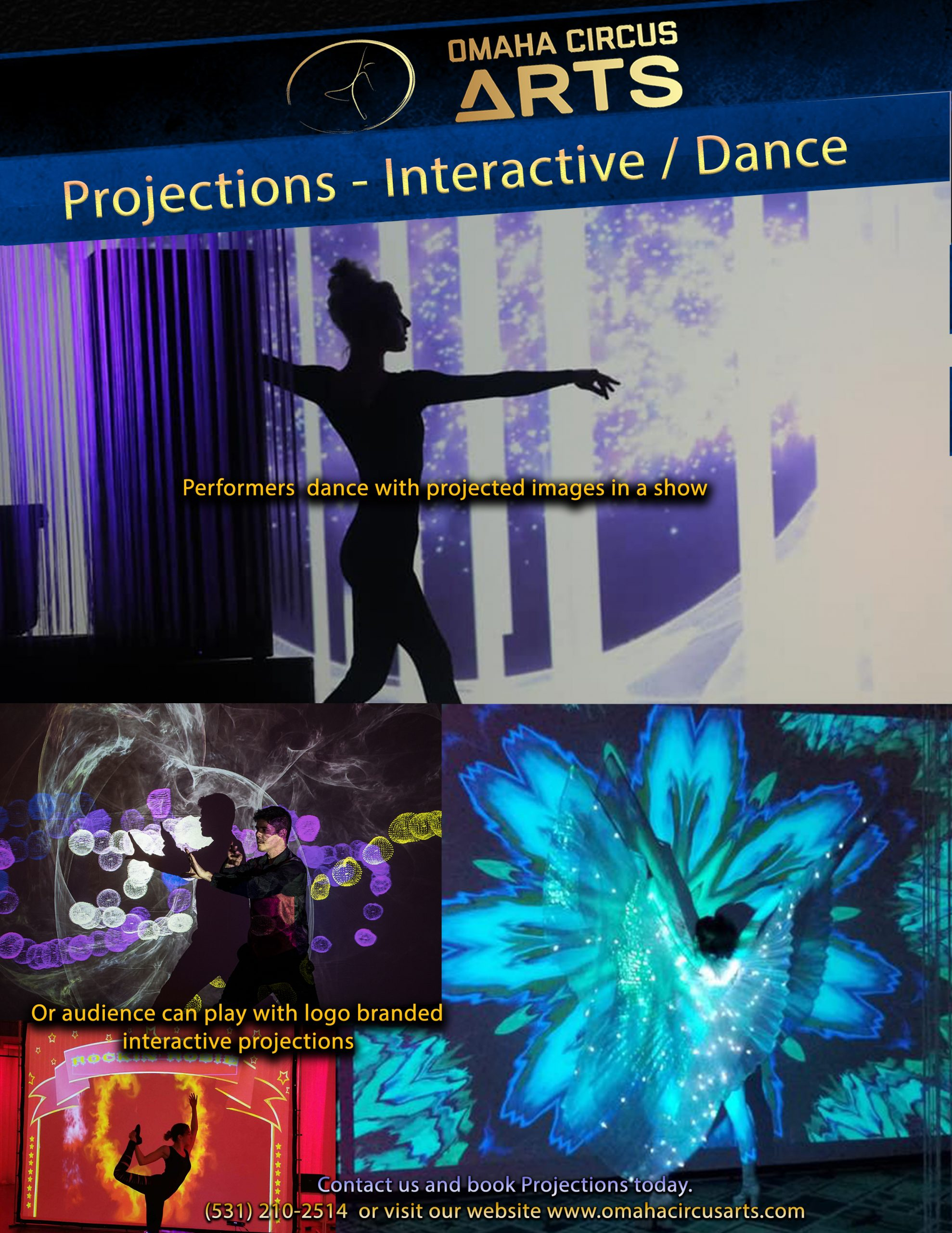 Projector - Interactive and Dance
